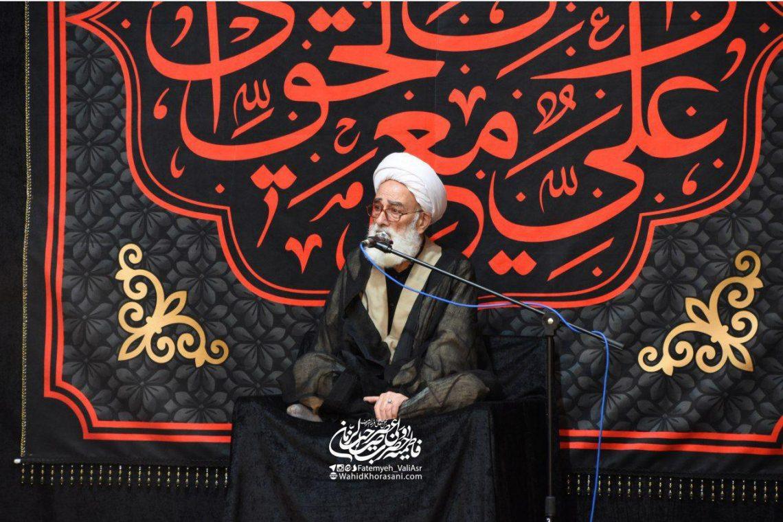 روضه حضرت زینب – استاد نظری منفرد