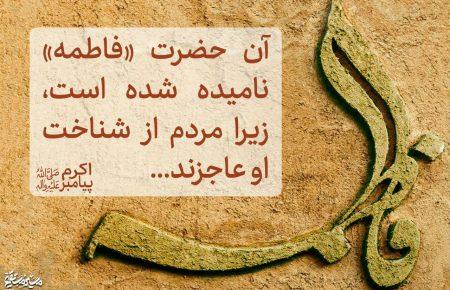 فاطمه سلام الله علیها لیلة القدر