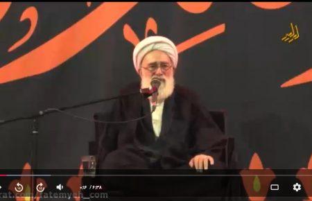 سخنرانی حجت الاسلام و المسلمین نظری منفرد – شب دوم محرم