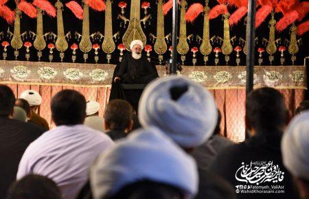 سخنرانی حجت الاسلام و المسلمین نظری منفرد – شب سوم محرم
