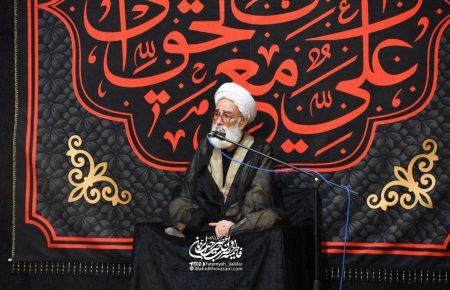 سخنرانی حجت الاسلام و المسلمین نظری منفرد – شب چهارم